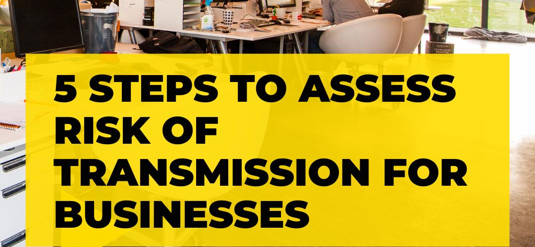 #ProjekMuhibah - 5 Steps to Assess Risk of Transmission for Businesses