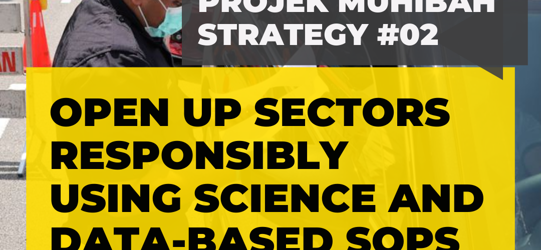 #ProjekMuhibah Strategy 2- Open Up Sectors Responsibly