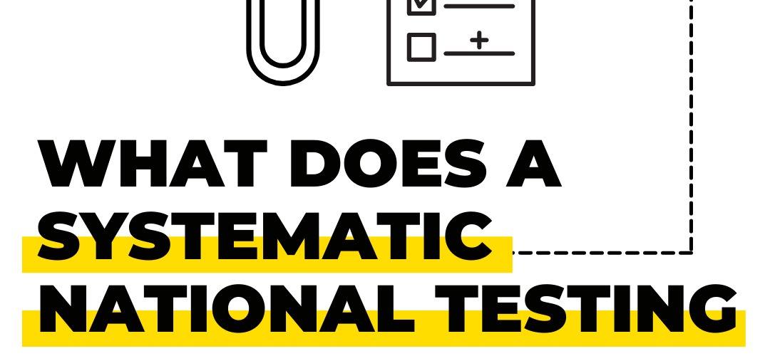 What Does A Systematic National Testing Plan Look Like?