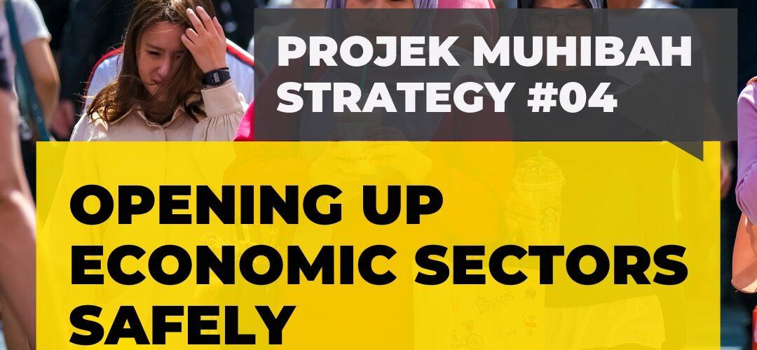 #ProjekMuhibah Strategy 4 - Opening up Economic Sectors Safely