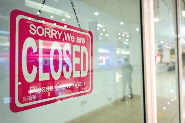 Shop and Business close after PKP at Kuala Lumpur